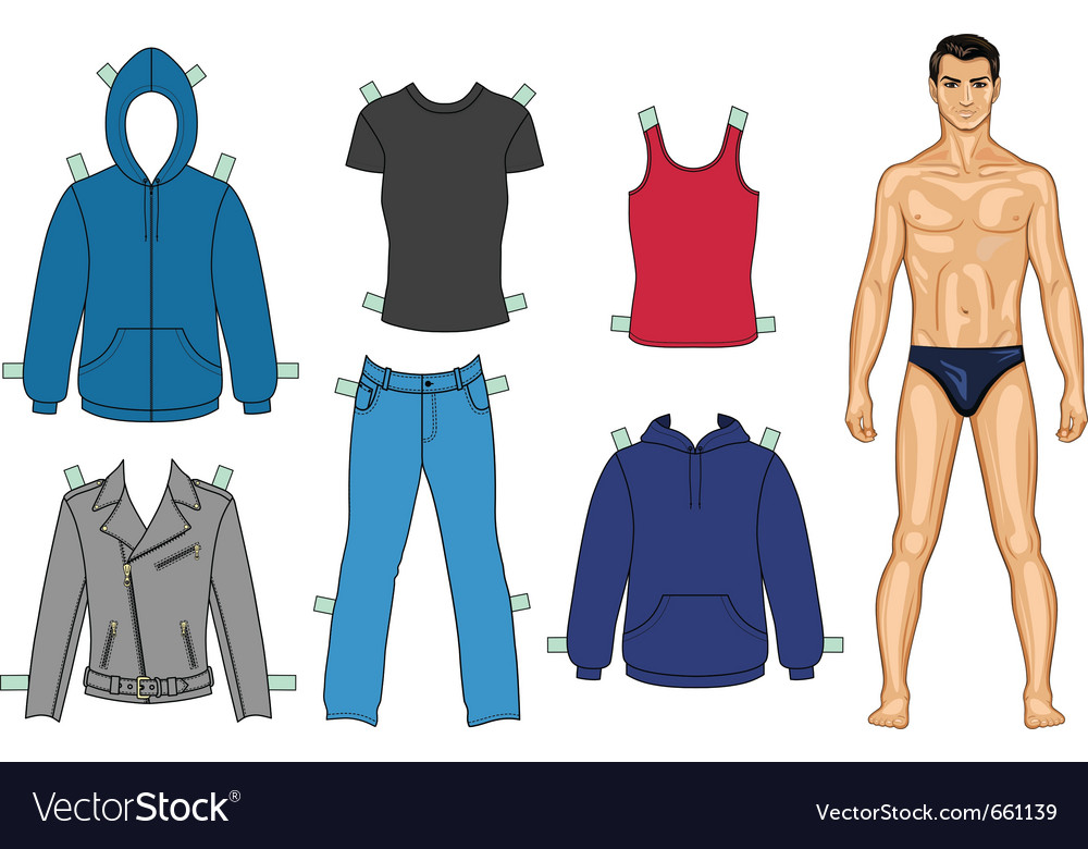 Man and clothes