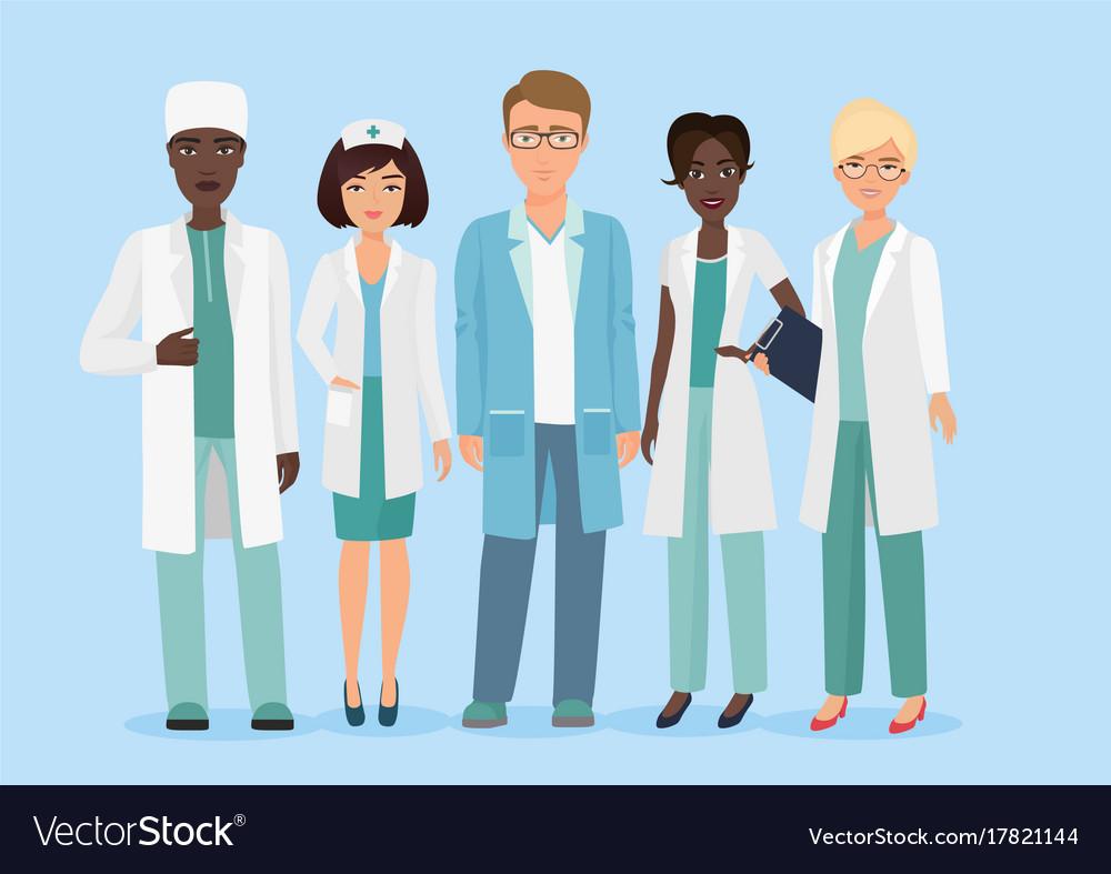 Cartoon Of Hospital Medical Royalty Free Vector Image