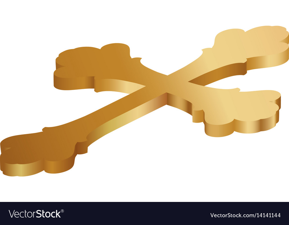 Christianity Cross Symbol Royalty Free Vector Image