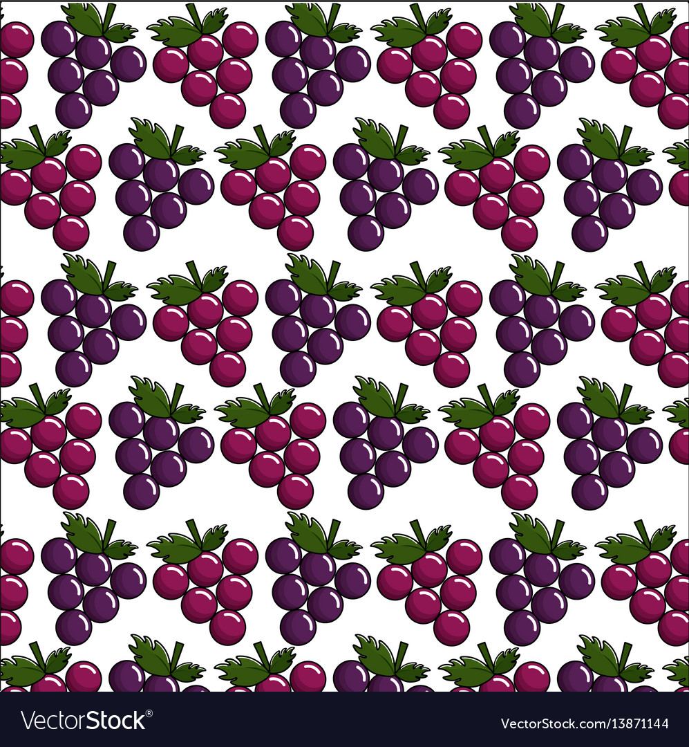 Grapes background icon stock