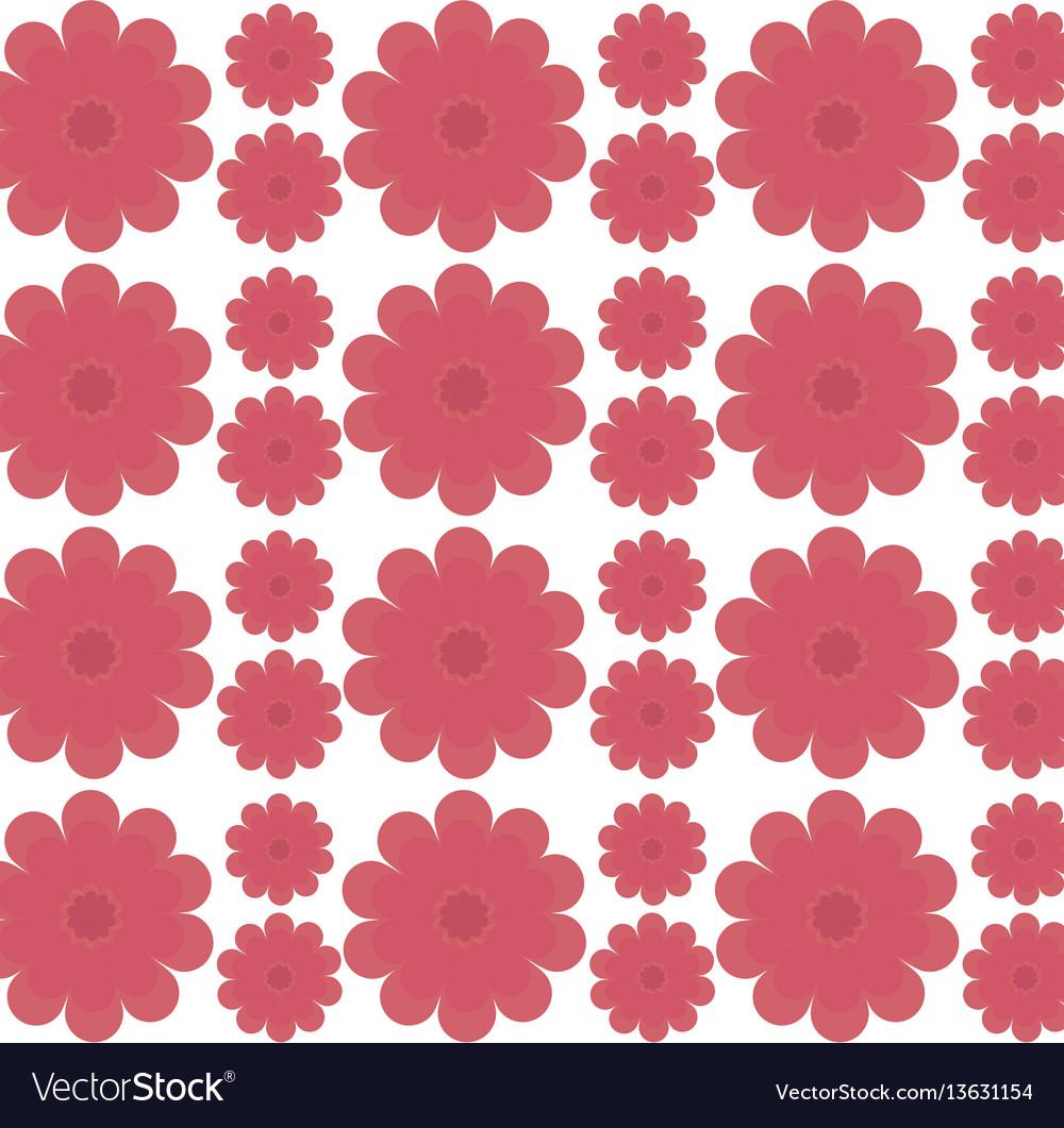 Flower decorative seamless pattern design