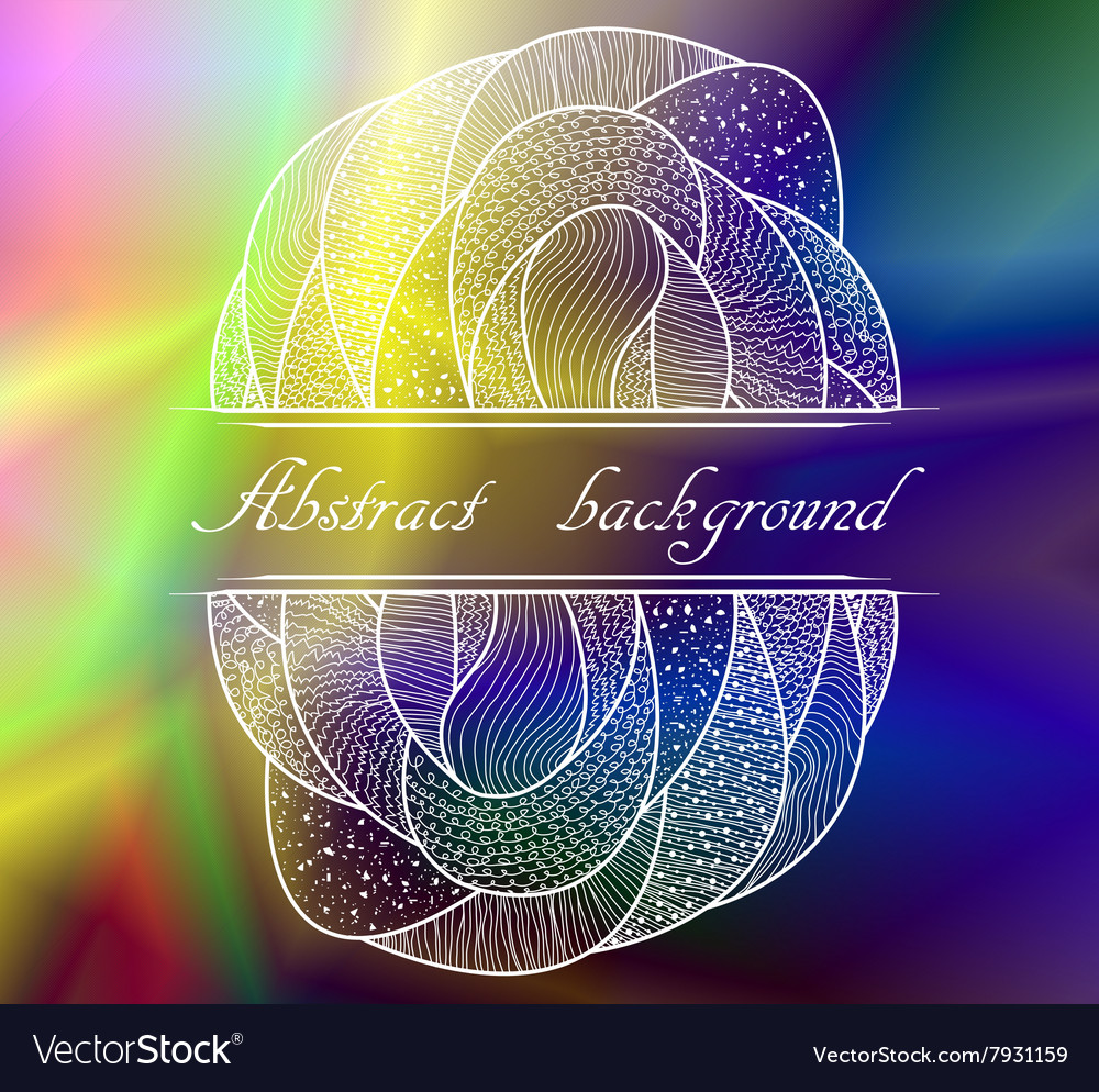 Abstract colorful background with pattern