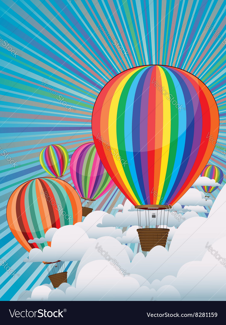 Colorful Hot Air Balloons3