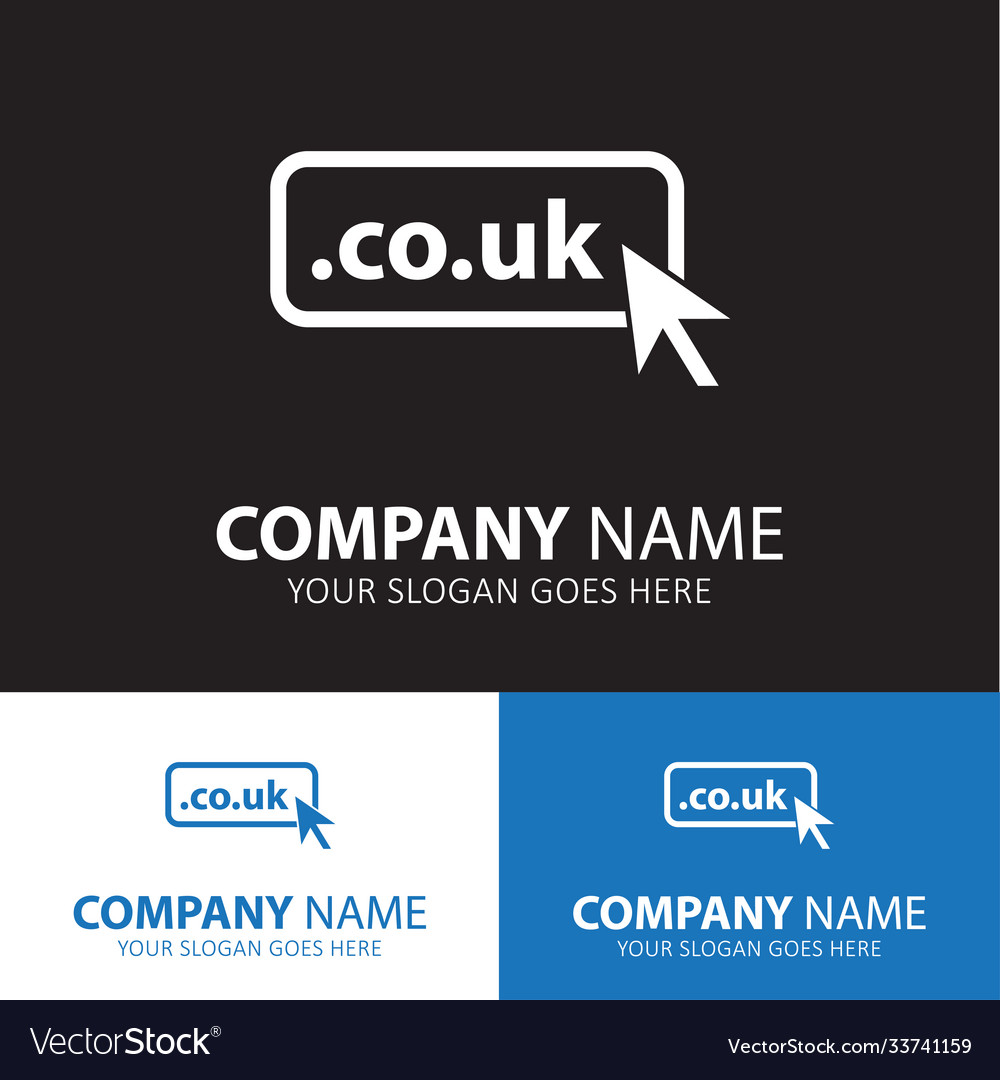 Domain co uk icon top-level internet