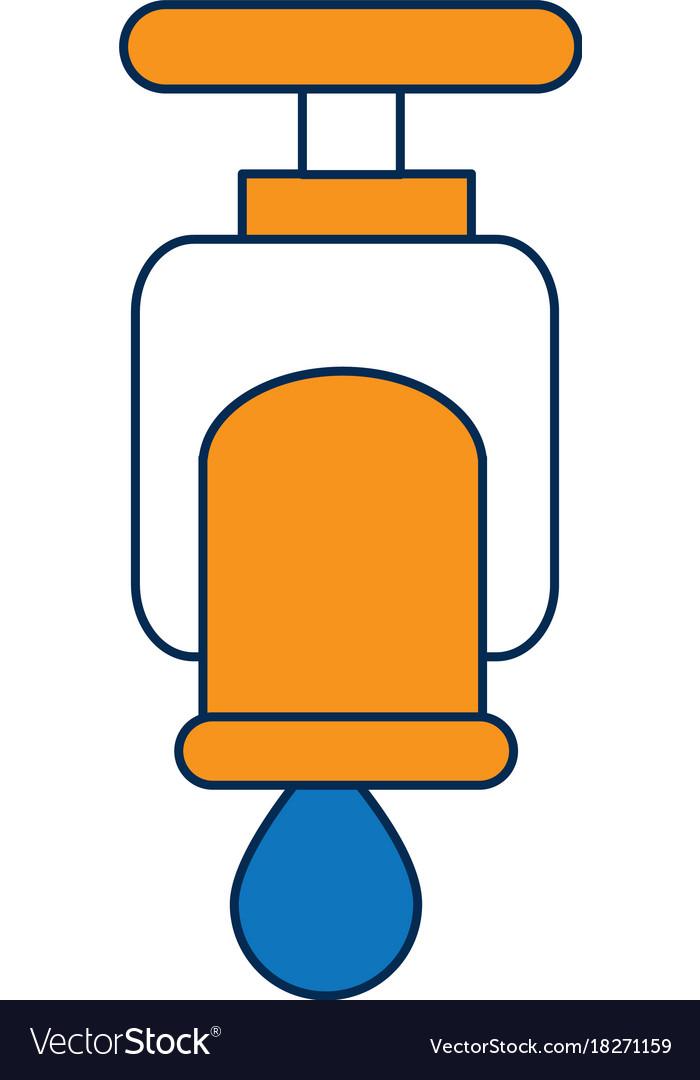Water faucet icon Royalty Free Vector Image - VectorStock