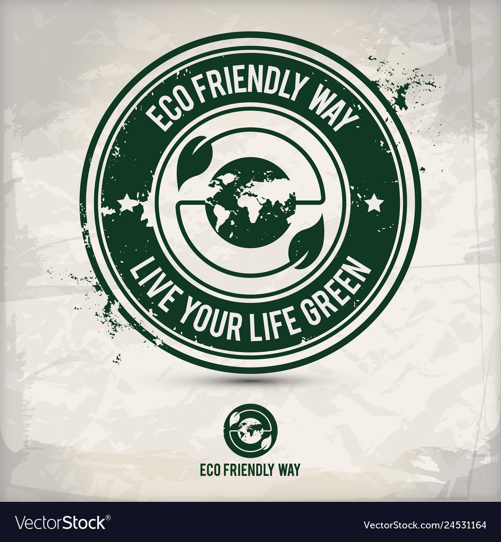 Alternative eco way stamp