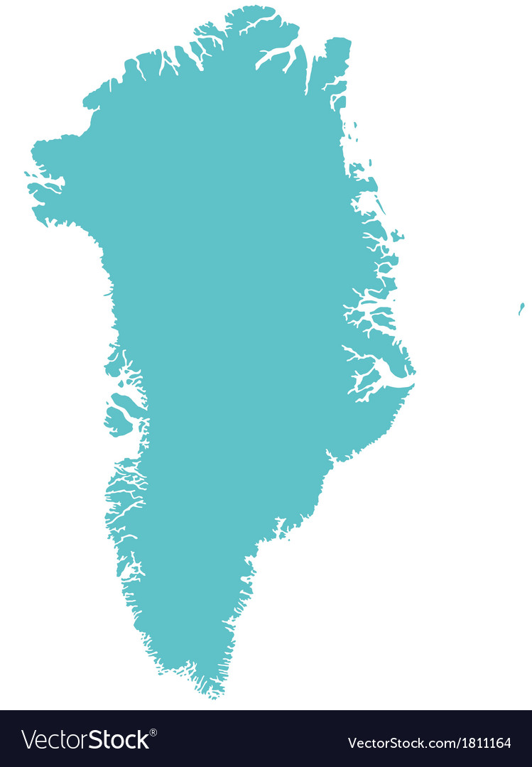 Map of greenland royalty free vector image vectorstock map of greenland vector image gumiabroncs Image collections