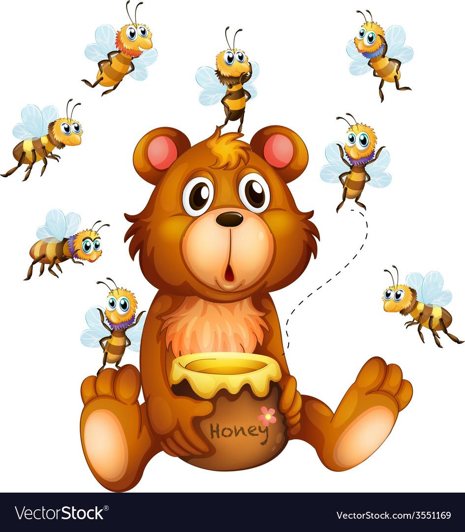 чем картинки мишка и пчелы женщины любят