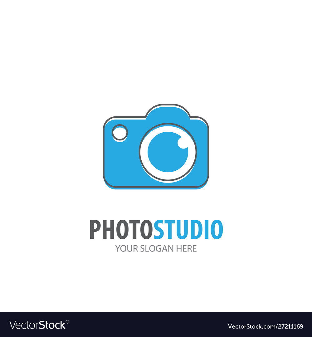 Photo studio logo for business company simple