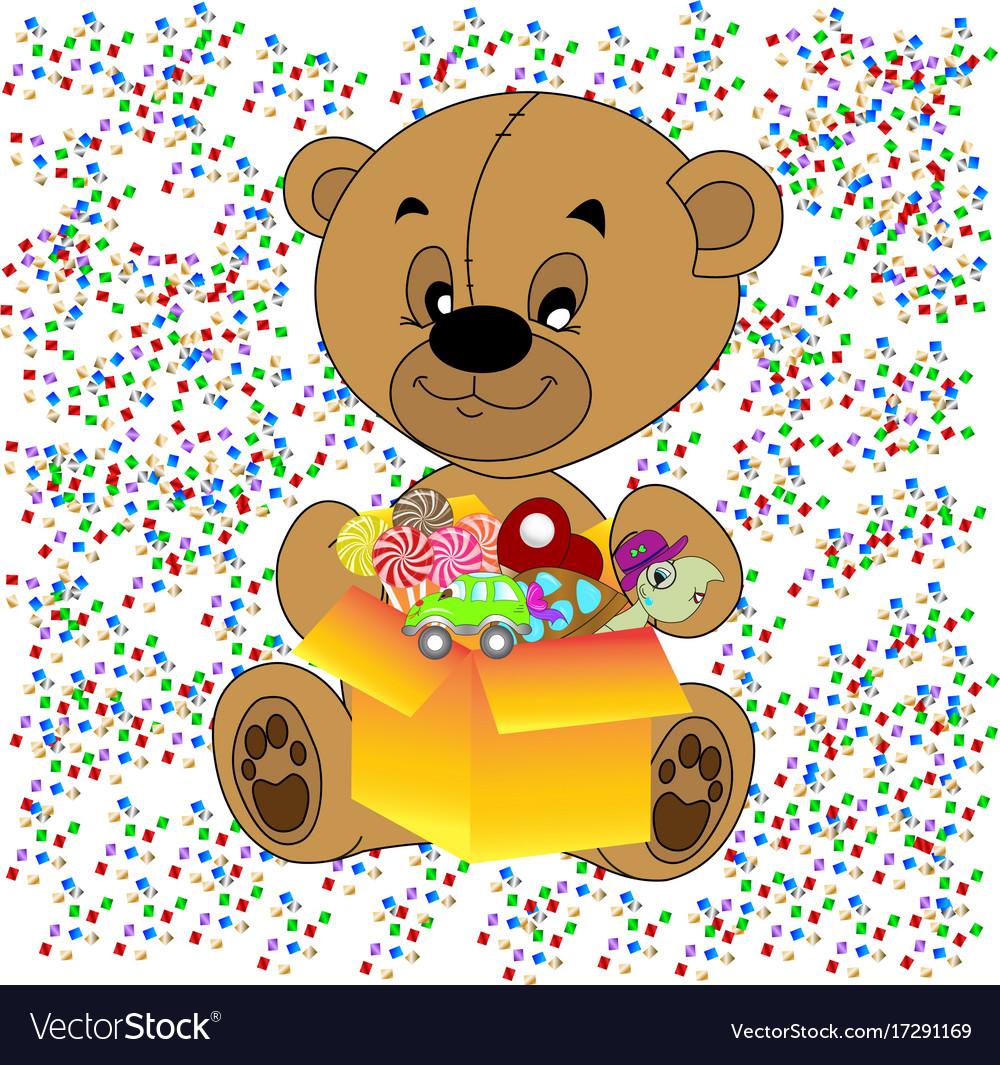 Teddy with tie teddy bear