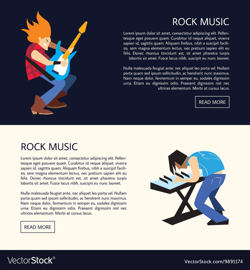 Rock band music group