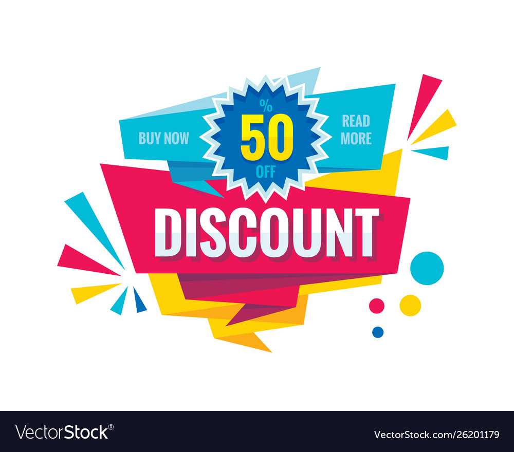 Discount Up To 50 Creative Banner
