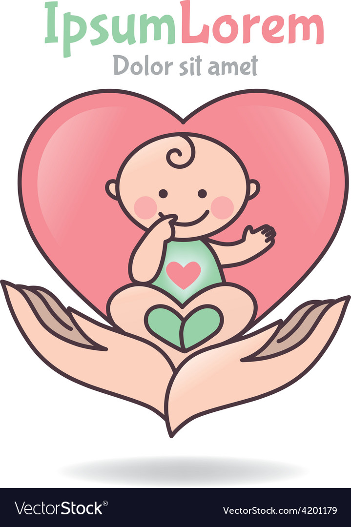 Logo love baby