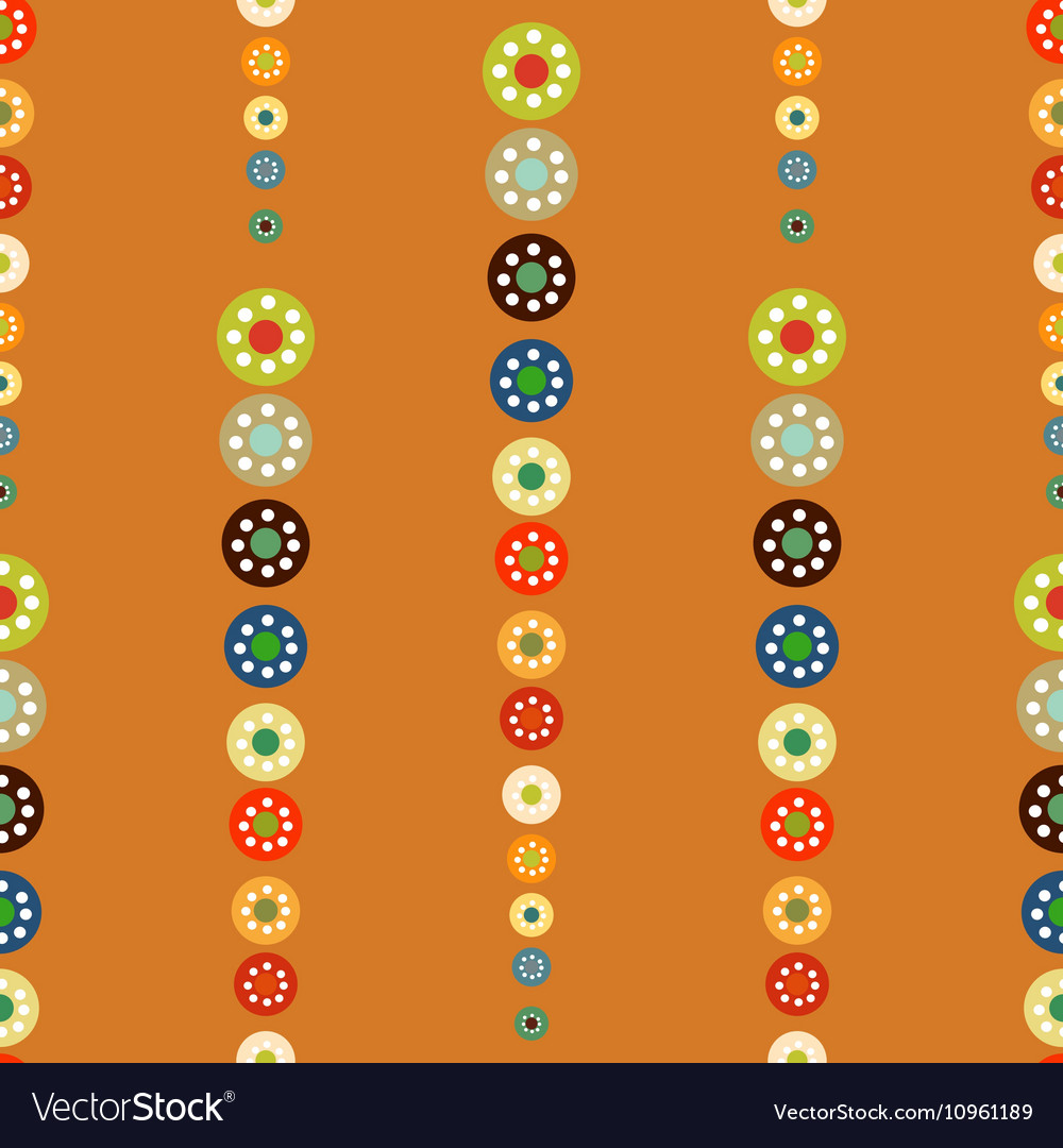 Bright circles seamless baby background