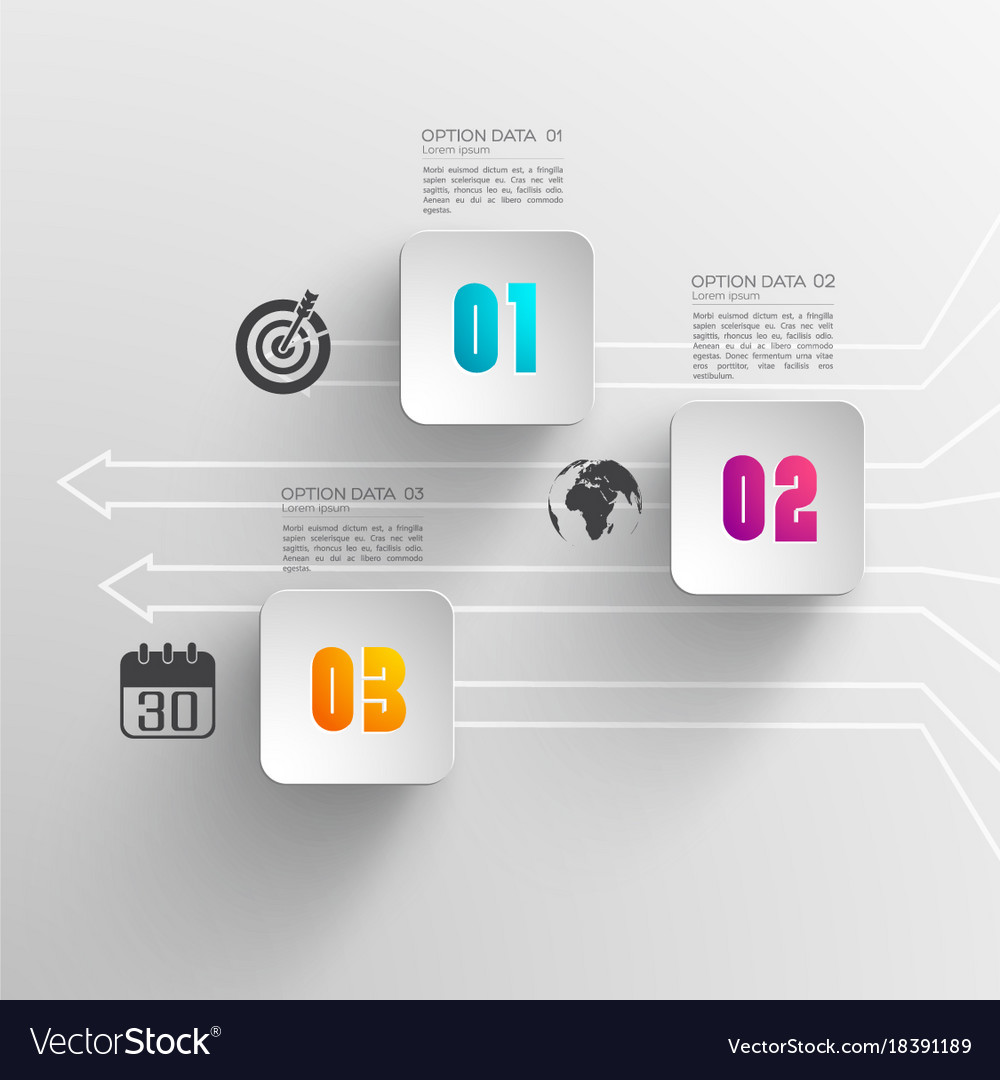 Business infographic concept
