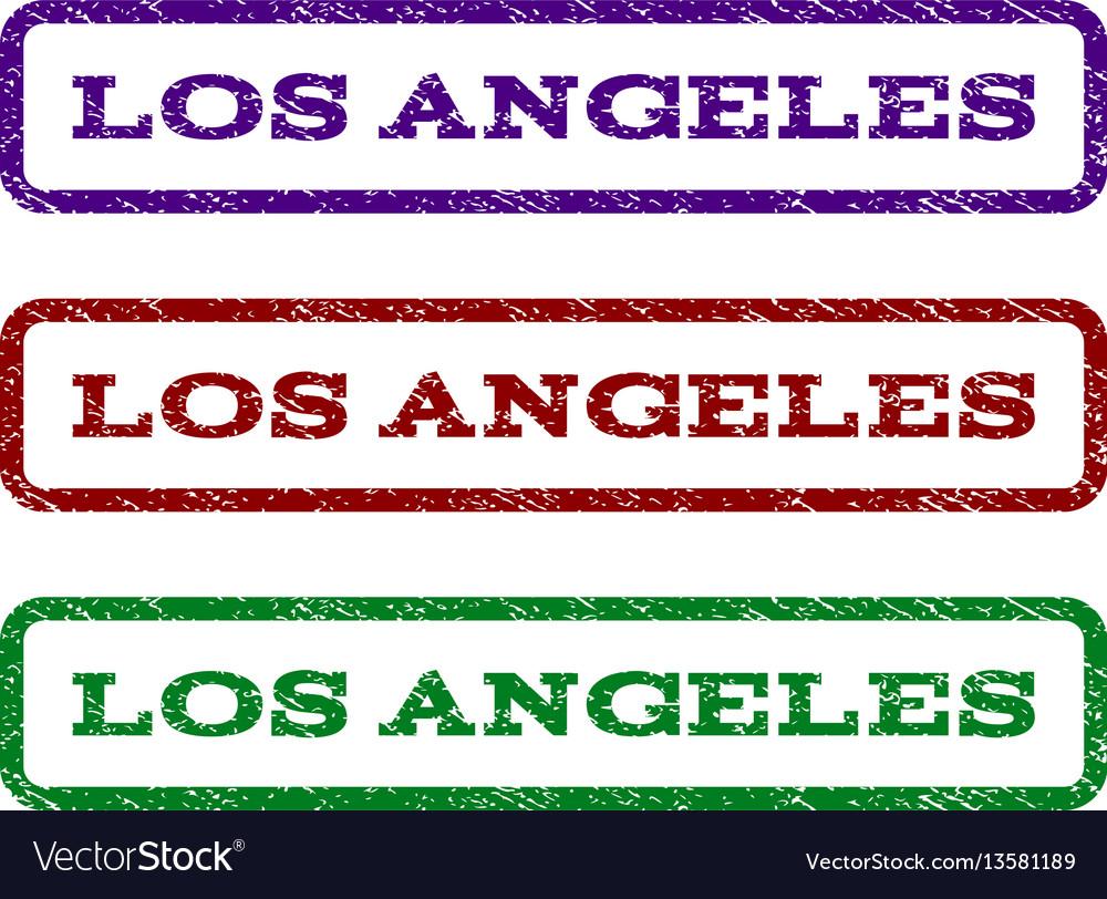Los angeles watermark stamp