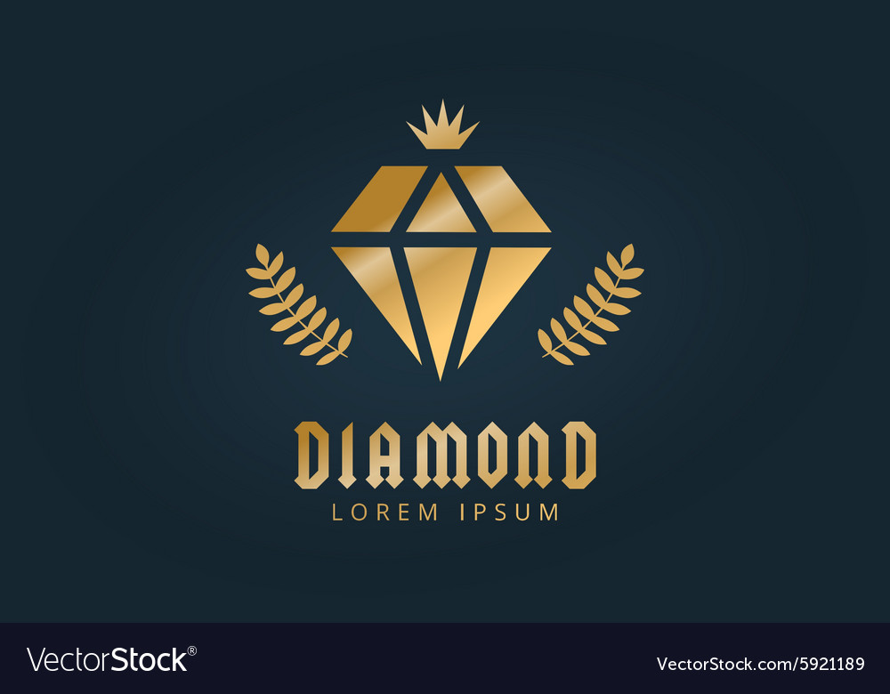 depositphotos stock illustration template vector simple logo diamond