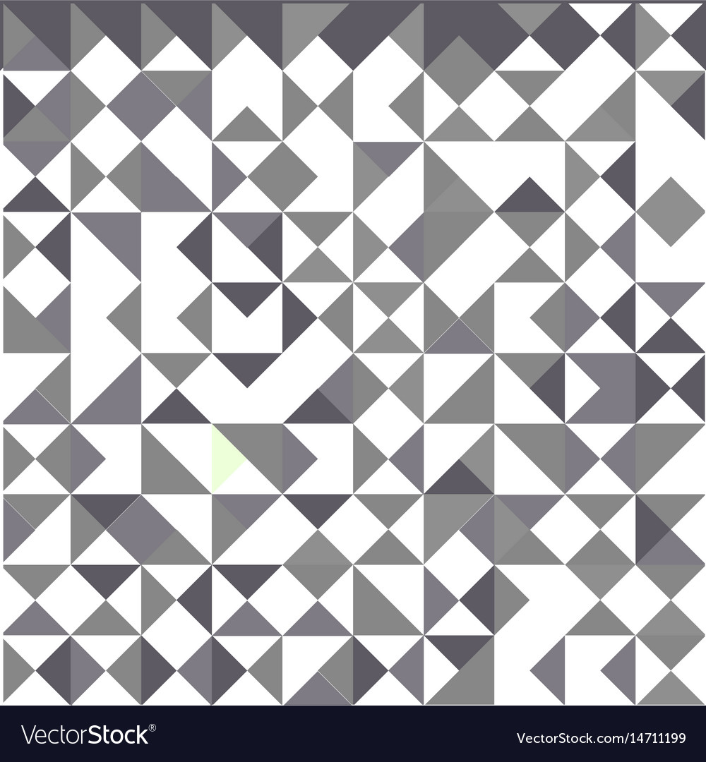 Abstract background of triangles design