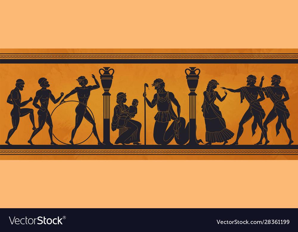 Ancient greece mythology antic history black