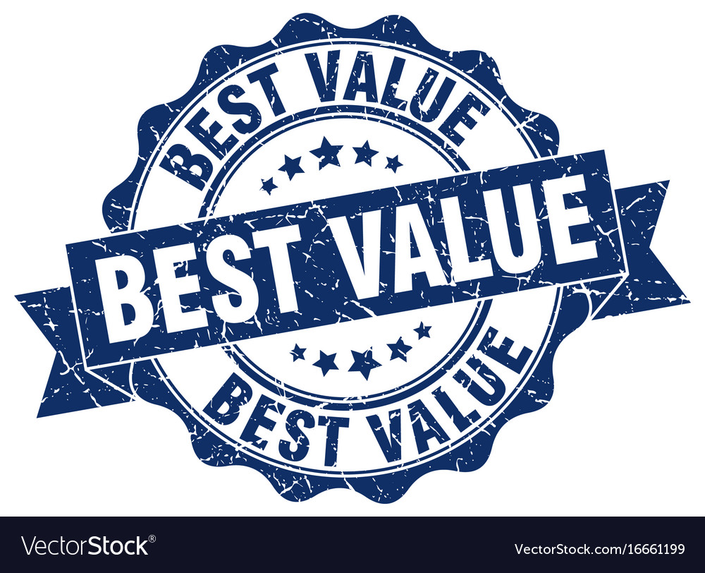 best value stamp sign seal royalty free vector image