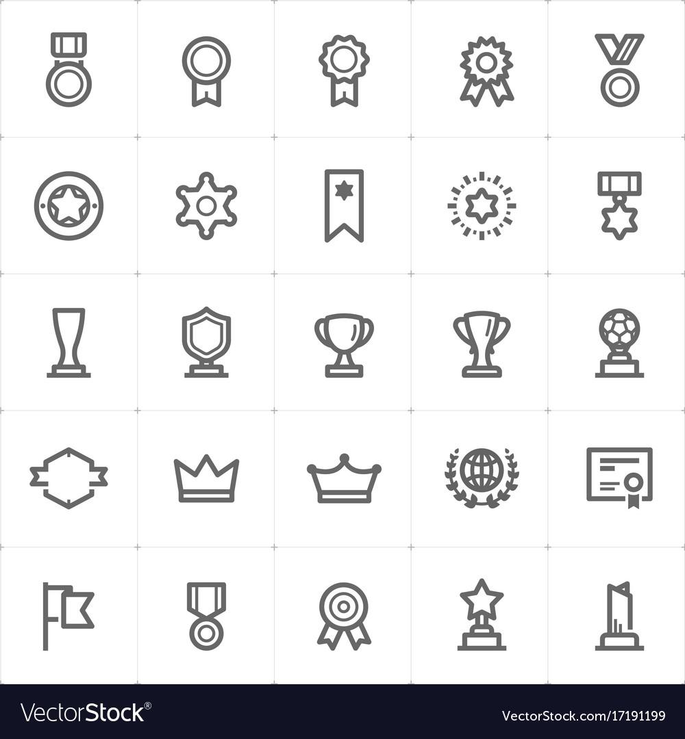 Mini icon set - award icon