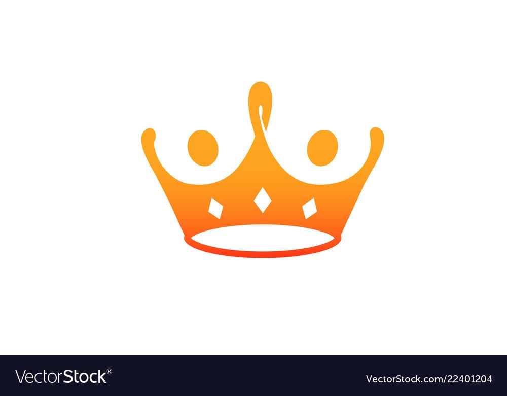 King crown red food logo