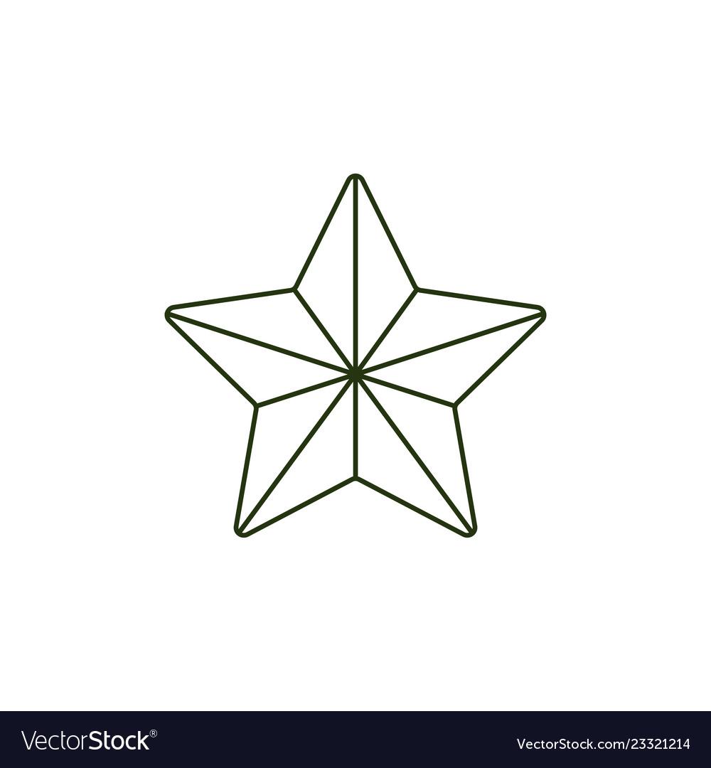 23 of february holiday symbol army star