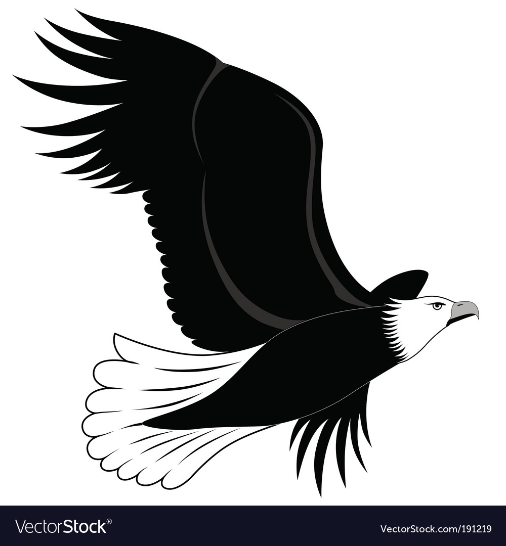 Eagle Tattoo Vector. Artist: flanker-d; File type: Vector EPS