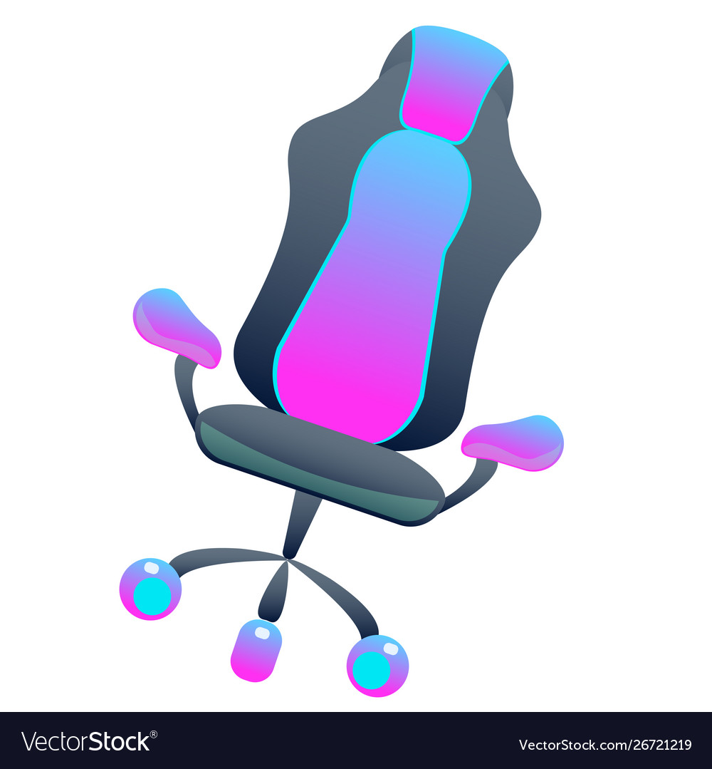 Fine Dark Gaming Chair On Isolated Background Bright Forskolin Free Trial Chair Design Images Forskolin Free Trialorg