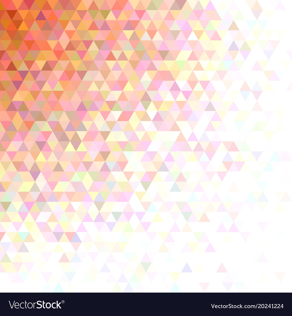 Abstract triangle pattern background - mosaic