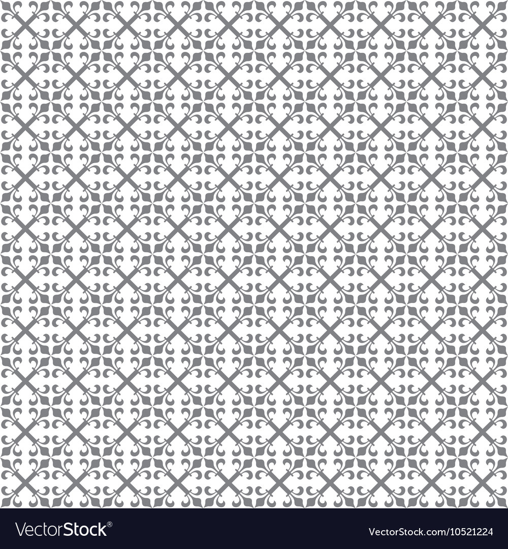 Abstract vintage pattern seamless background vector image