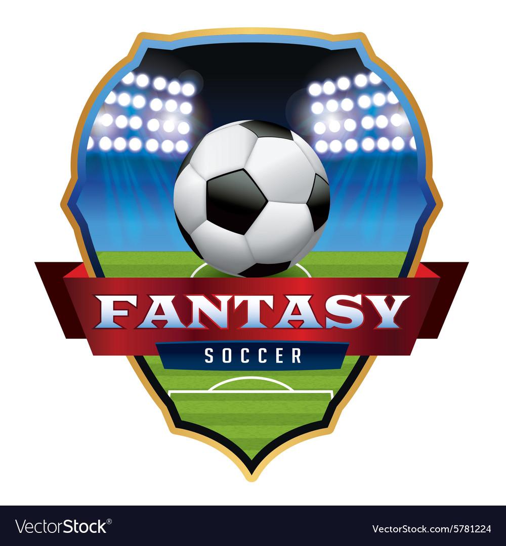 Fantasy Soccer Badge