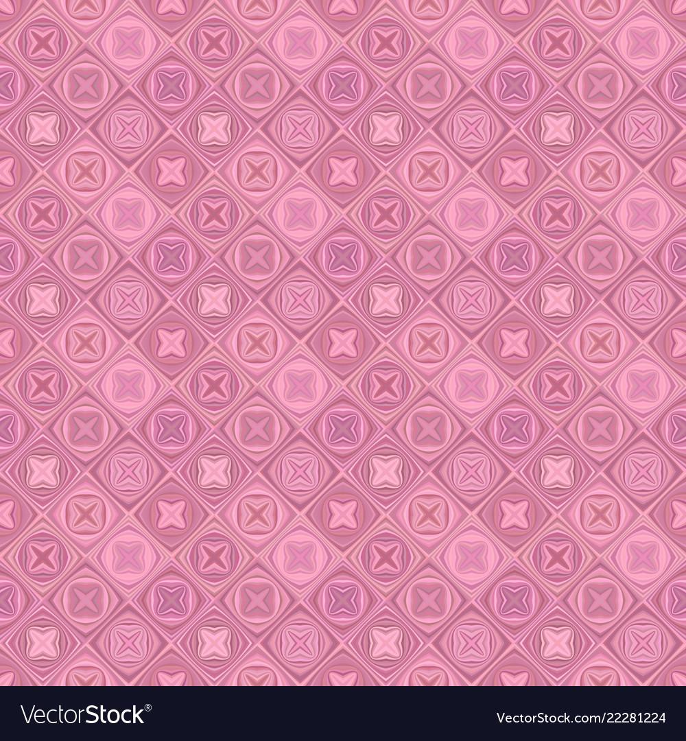 Geometric diagonal curved shape tile mosaic