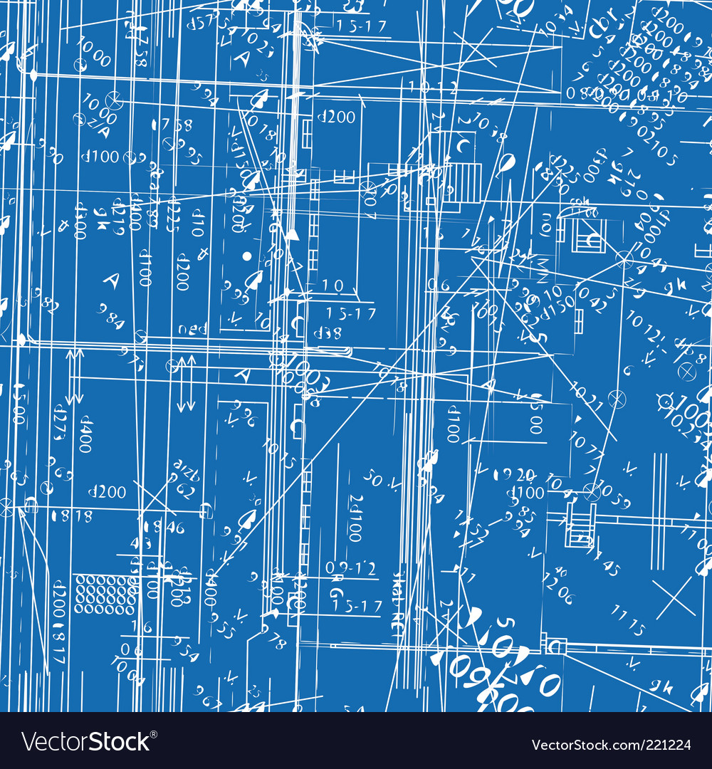 simulating engineering blueprint royalty free vector image