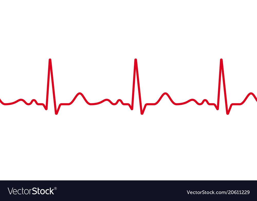 Heart cardiogram pulse heartbeat