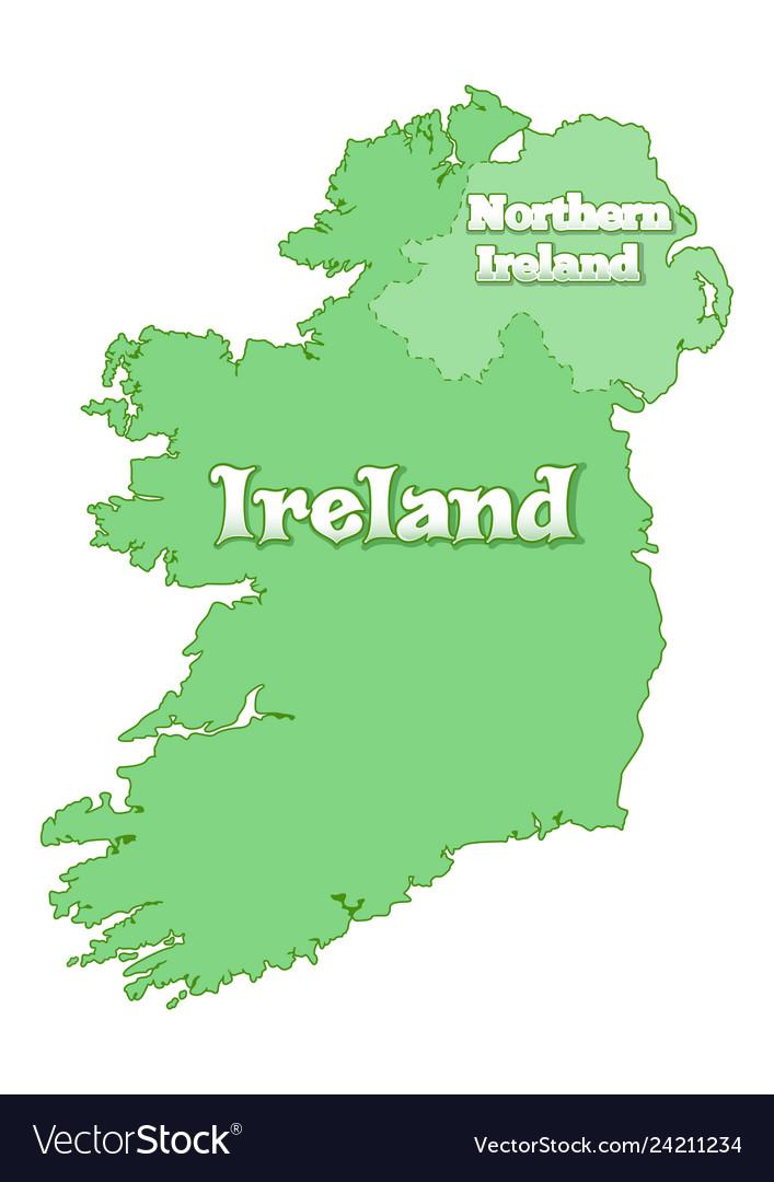 Islands Of Ireland Map.Island Of Ireland Map Of Ireland