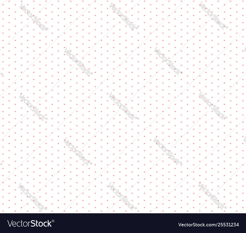 Wrapping paper hearts seamless pattern little