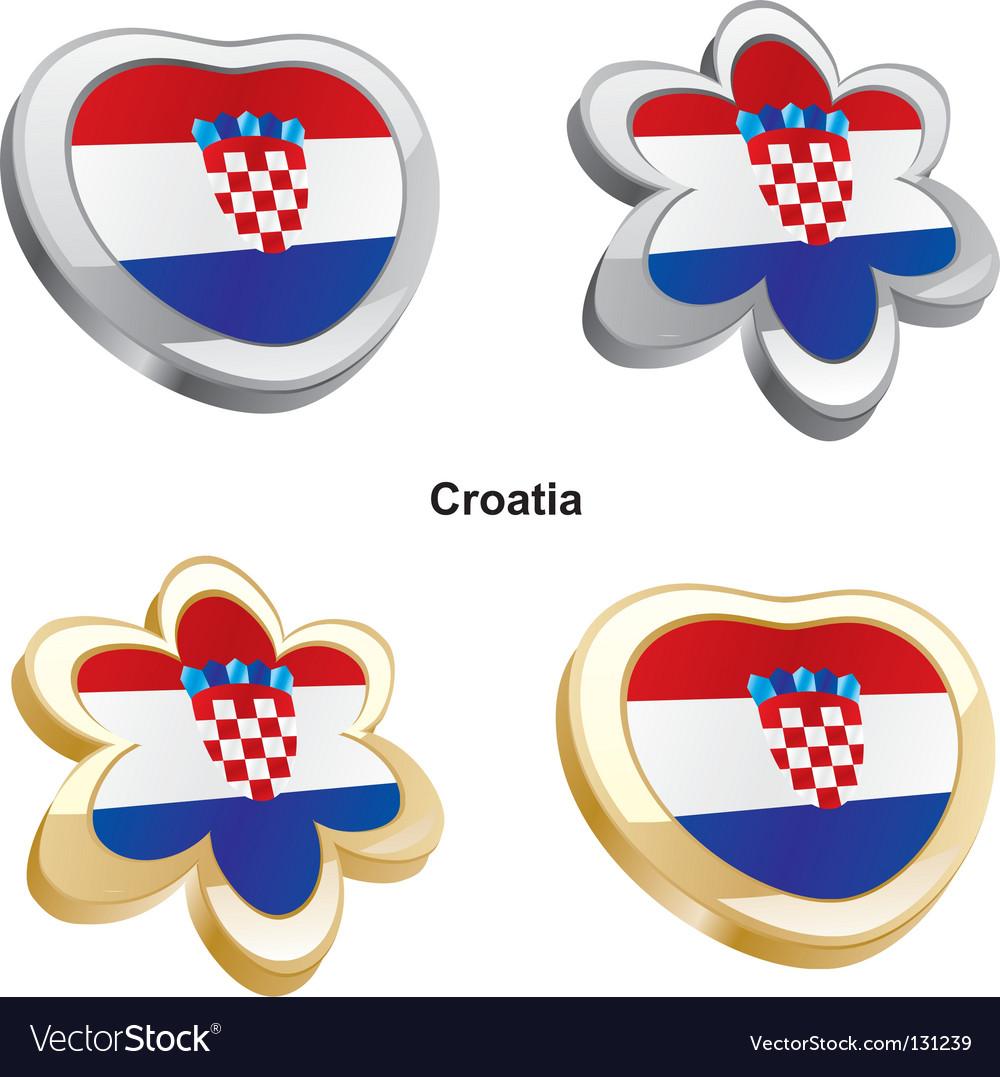 Flag Of Croatia Royalty Free Vector Image Vectorstock