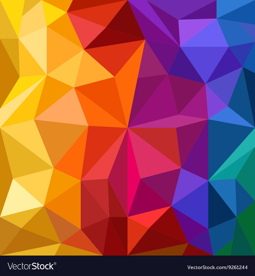 Abstract background of different color figures