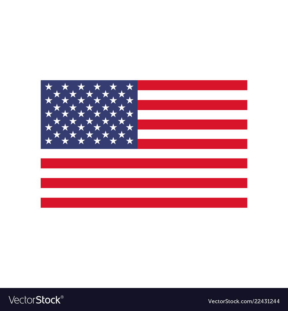 America flag icon national emblem of usa
