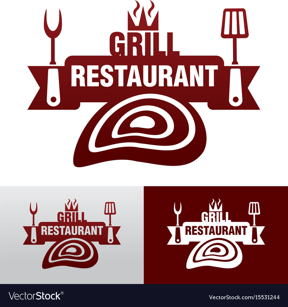 Grill graphic sign