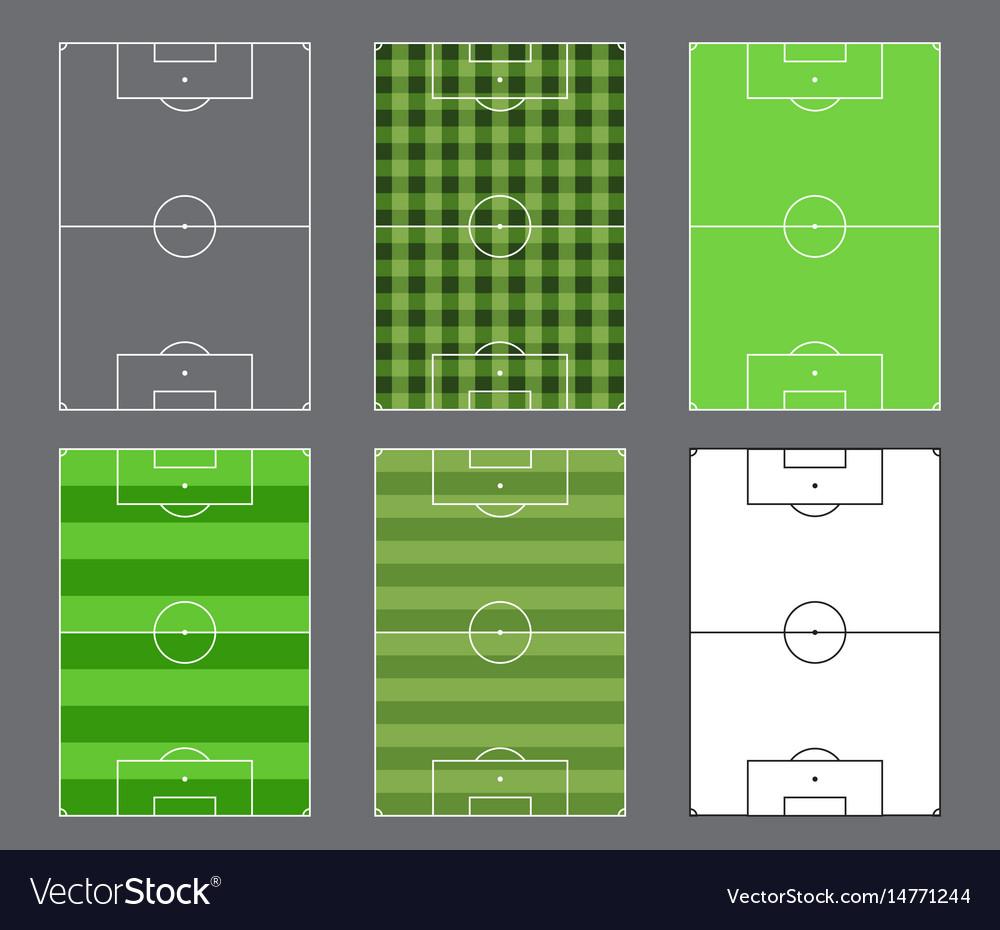 Soccer fields design