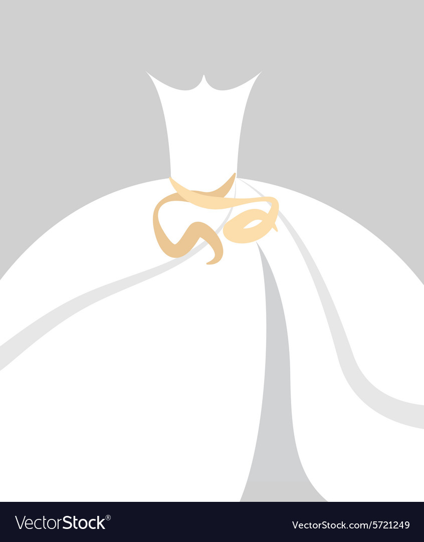 Bride dress background