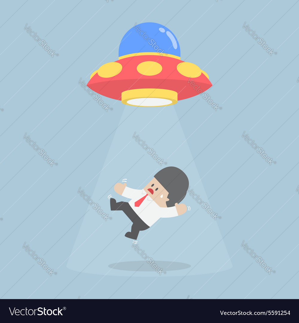 Businessman abducted by Alien spaceship or UFO