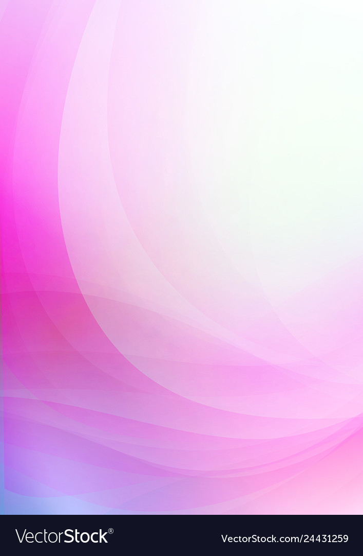 Curved abstract pink background