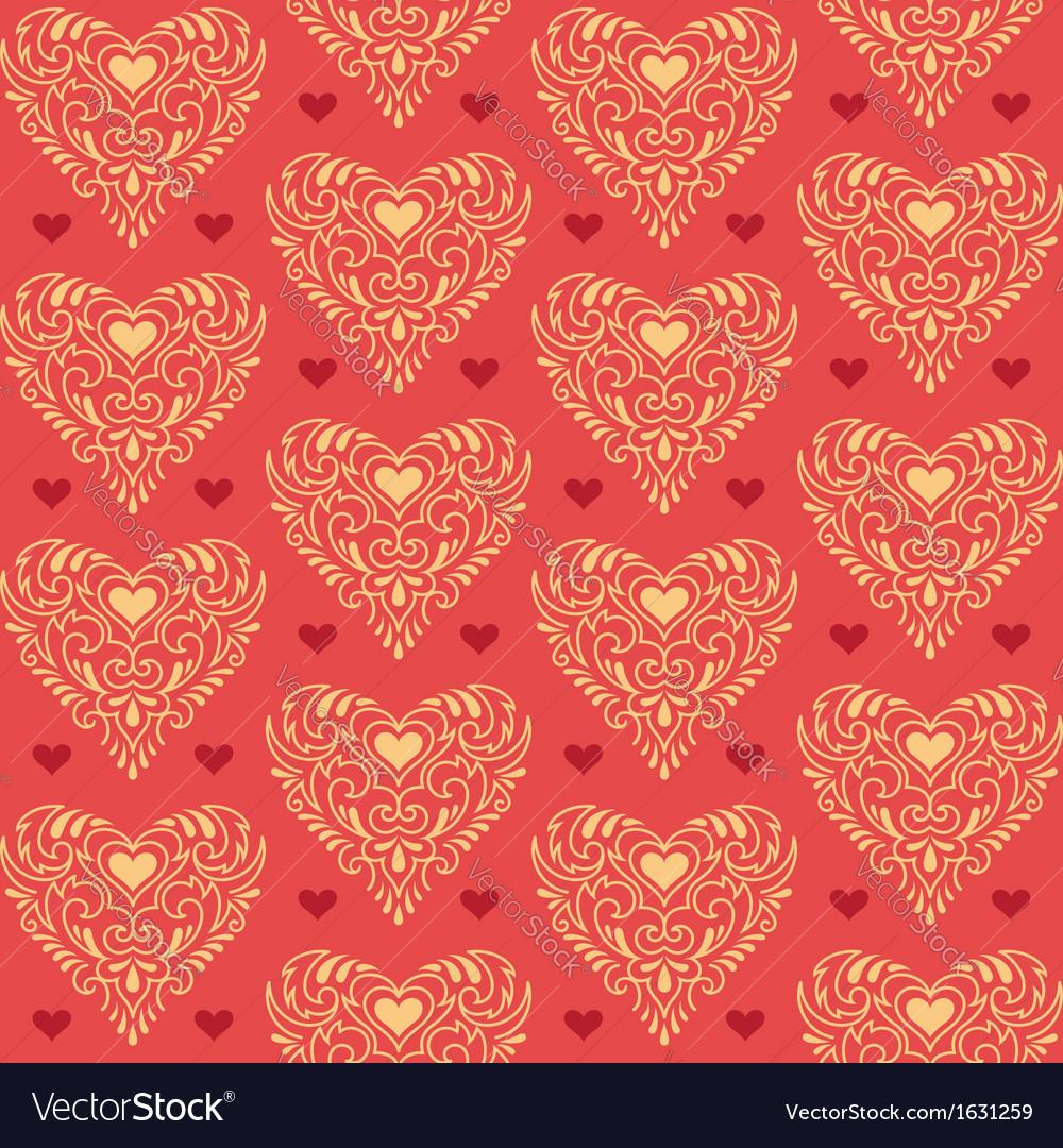 Ornate hearts