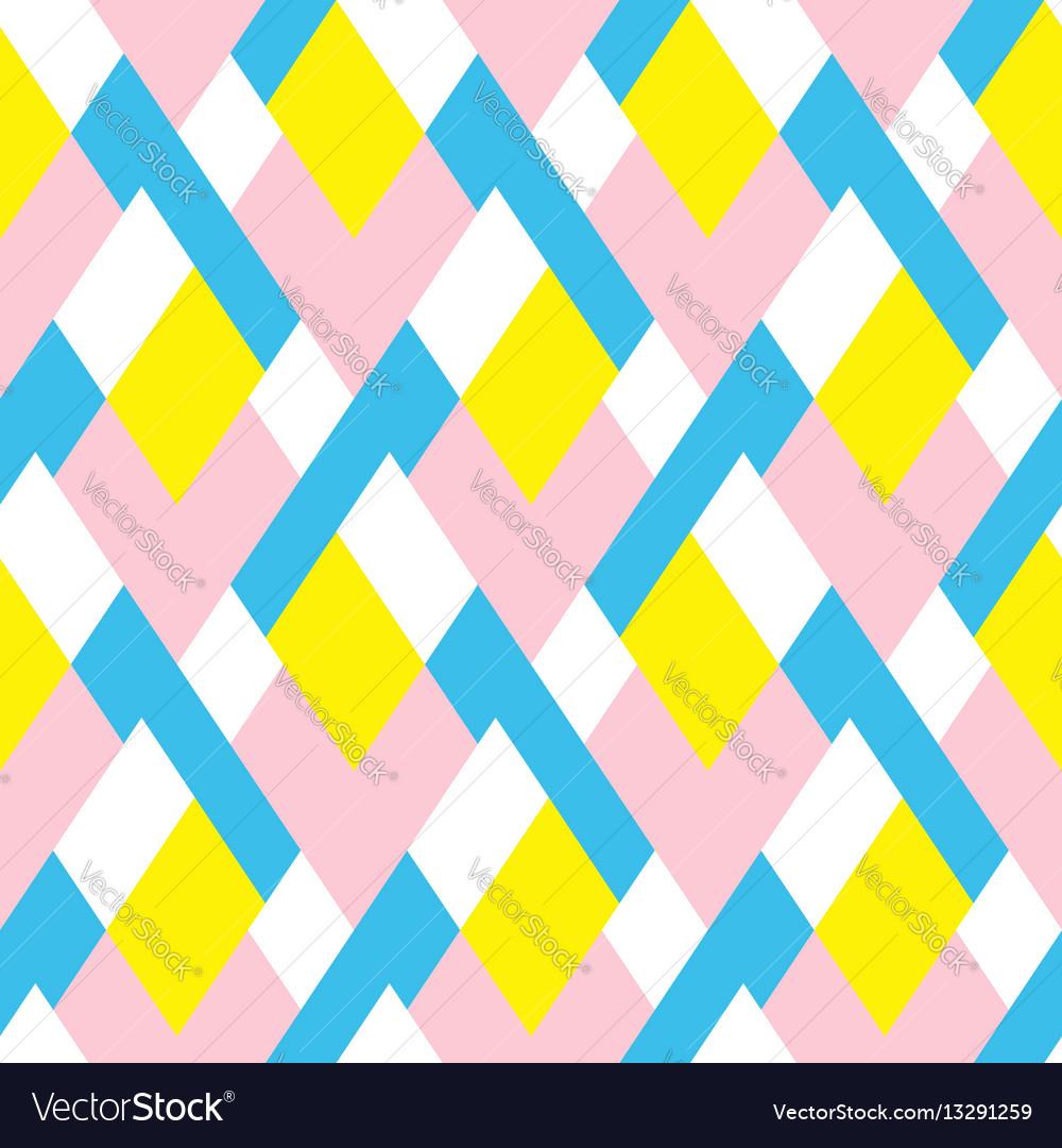 pattern with stripe chevron geometric shapes vector image rh vectorstock com