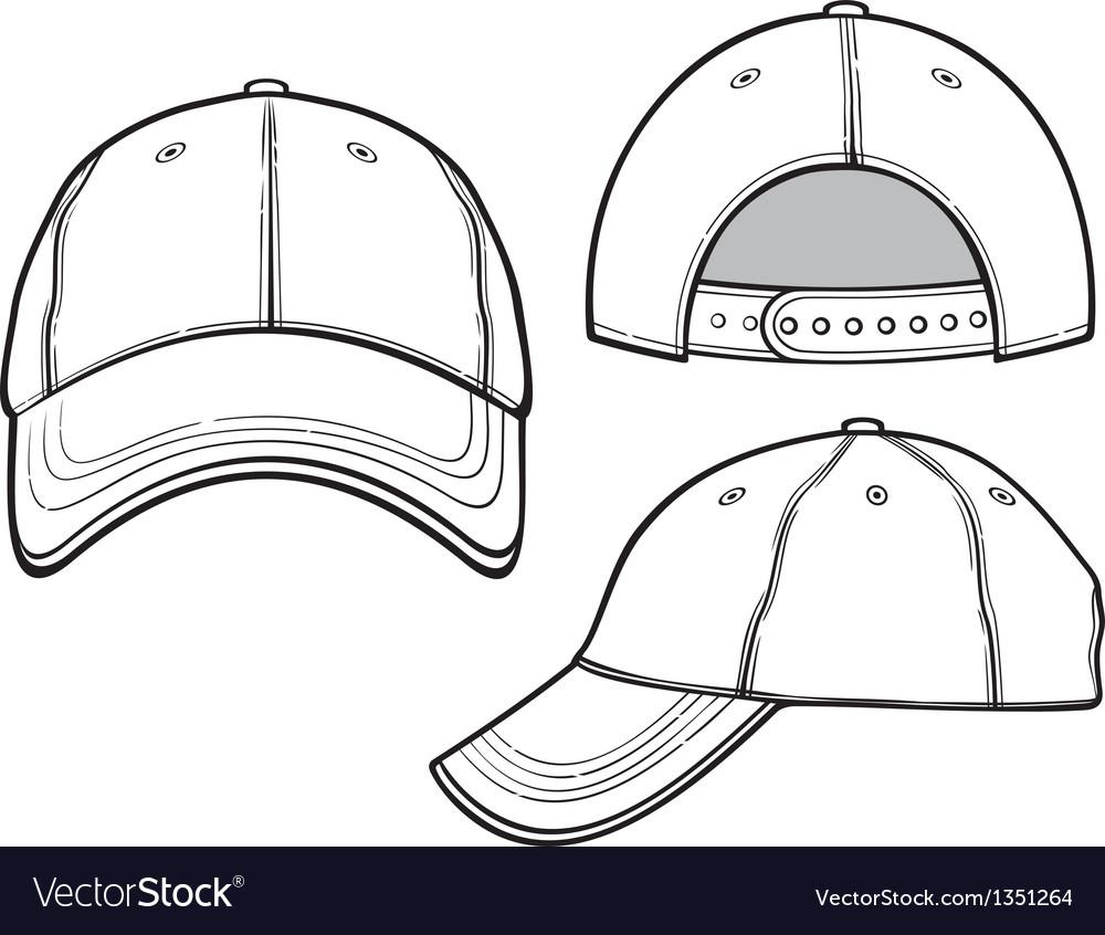 baseball cap royalty free vector image vectorstock rh vectorstock com cap victor marinetraffic cap victor