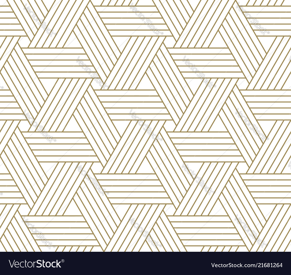 Modern simple geometric seamless pattern