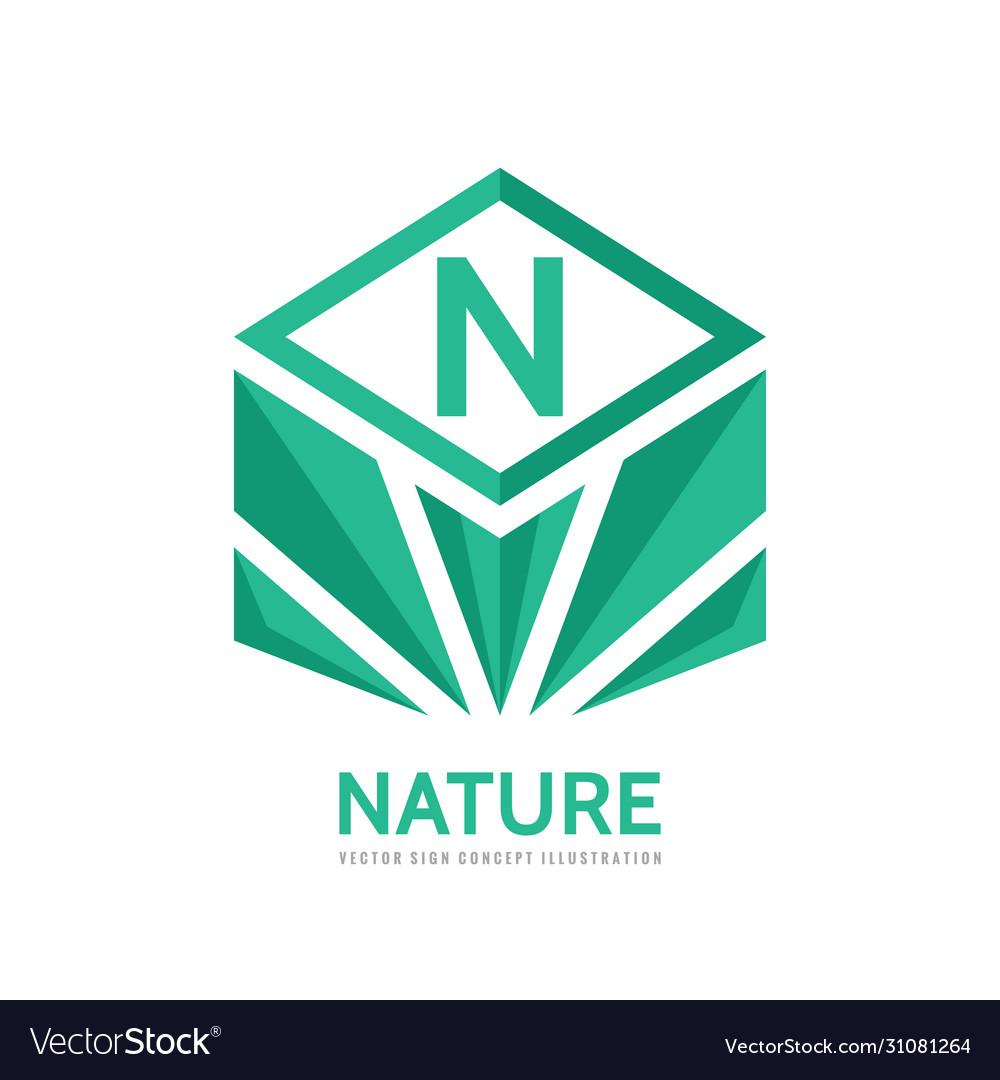 Nature - business logo concept